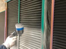 錆止め塗装 雨戸