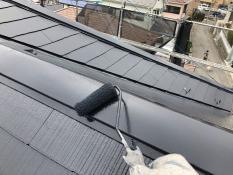 屋根 遮熱塗料 棟板金