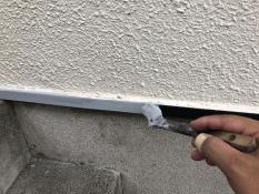 水切り 塗り替え 錆止め塗装