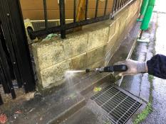 塀高圧洗浄 逗子市