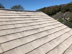 逗子市 屋根塗装 施工前