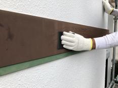 横浜市 幕板塗装 ケレン