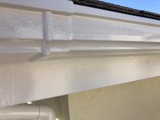 雨樋 シリコン塗装 施工後