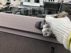 塗り替え 棟板金 清掃
