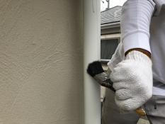 塗り替え 竪樋 清掃