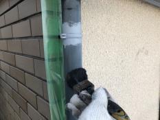 塗り替え 竪樋清掃