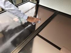 住宅塗装 その他作業 テラス清掃