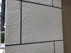 外壁化粧柱 塗装リフォーム 施工後