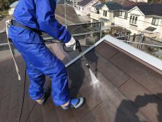 高圧洗浄 屋根 塗り替え