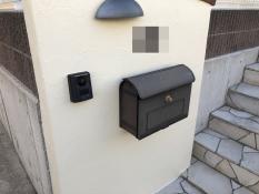 塗り替え 戸塚区 塀塗装 施工後