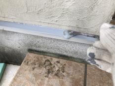 住宅塗装 水切り 錆止め塗装