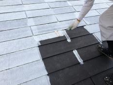 下塗り2回目 屋根 塗装リフォーム