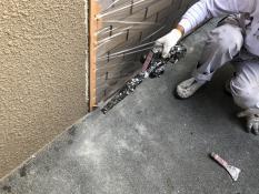 ベランダ防水 清掃