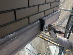 塗り替え 幕板清掃