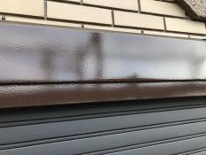 塗装工事 シャッターボックス 施工後