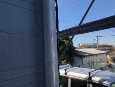 竪樋塗装後