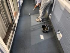 防水保護塗装 下塗り