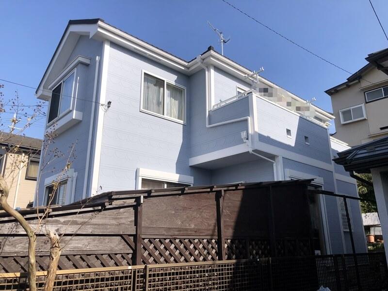 横浜市戸塚区 外壁塗装 施工後