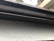 軒樋塗装施工後