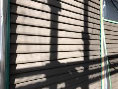 横浜市 雨戸塗り替え 施工前
