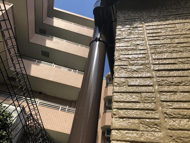 住宅塗装 外壁 雨樋