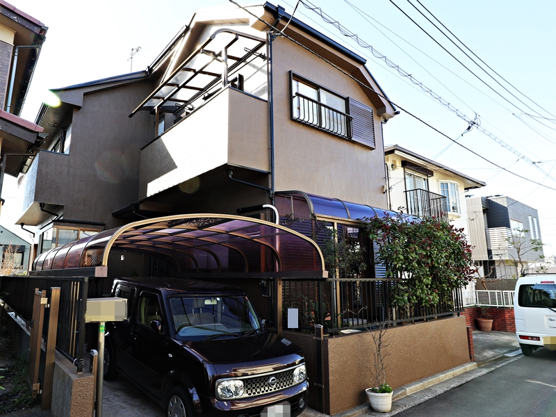 外壁屋根塗装 横浜市港南区S様邸