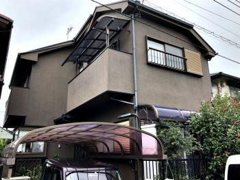 外壁屋根塗装前