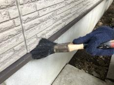 住宅塗装 水切り清掃