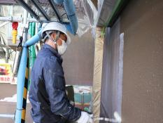 UVカットクリヤー 外壁塗装 横浜市