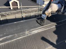 横浜市塗装 棟板金 清掃