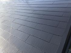 横浜市港南区 遮熱屋根塗装 施工後