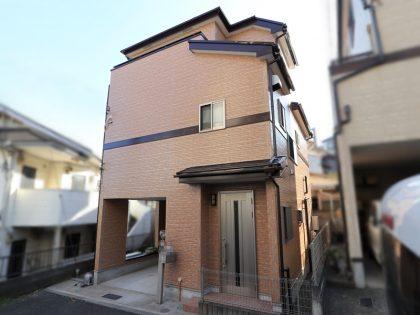 横浜市戸塚区Y様邸施工事例|UVプロテクト4Fクリヤー外壁塗装