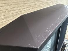 出窓塗り替え 天端施工後