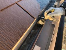 戸建住宅塗装 軒樋清掃