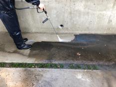 住宅塗装 土間高圧洗浄