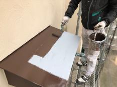 霧除け塗装 シリコン