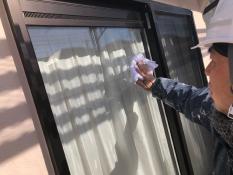 外壁塗装 その他作業 窓拭き