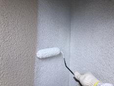 外壁塗装 フィラー下塗り