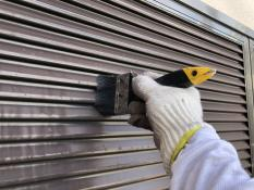 横浜市住宅塗装 雨戸清掃