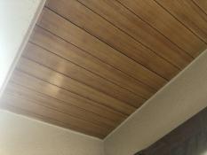 軒天井 塗り替え前