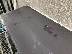 横浜市住宅塗装 霧除け庇 施工前