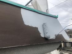 横浜市栄区N様邸パラペット錆止め塗装