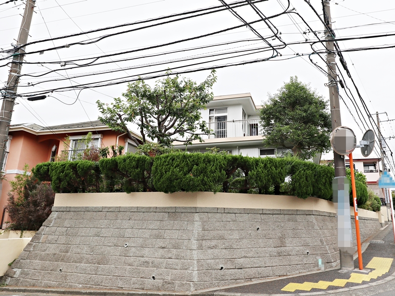 外装 塀塗装 横浜市