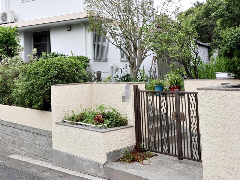 横浜市栄区N様邸ダイヤモンドコート外壁塗装塀塗装後