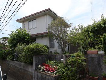 横浜市栄区N様邸ダイヤモンドコート外壁塗装施工前