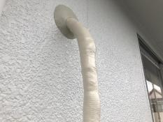横浜市栄区N様邸外壁塗り替え後サービス作業