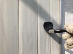 雨戸塗り替え清掃