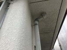 横浜市栄区N様邸雨樋塗装施工前
