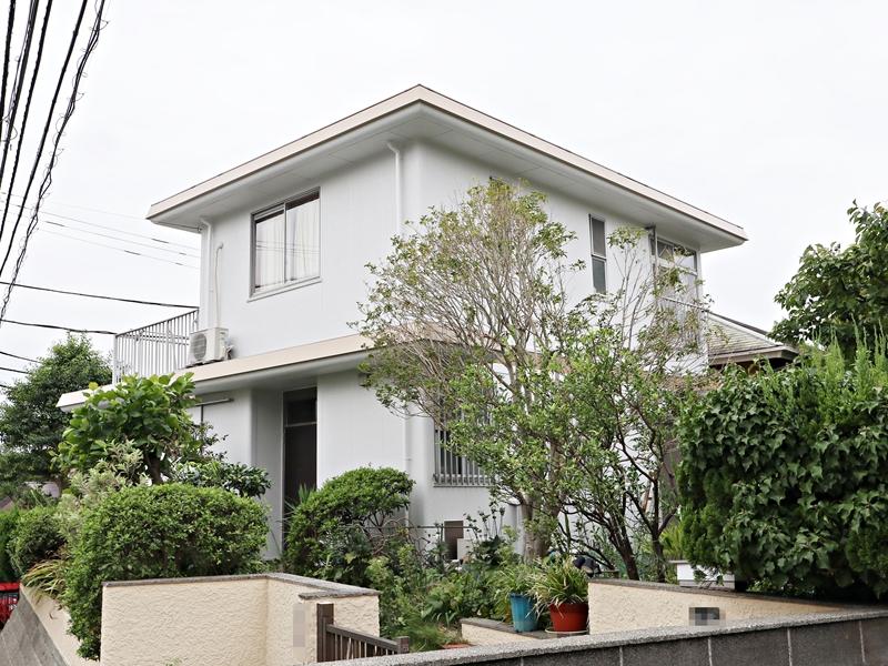 横浜市栄区N様邸日本ペイントダイヤモンドコート外壁塗装後