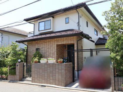 横浜市戸塚区H様邸施工事例|外壁塗装 塀塗装 タイル貼り工事